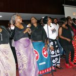 Various artist perform at Mulungushi International Conference Center at they celebrate the life of late Joe Chibangiu