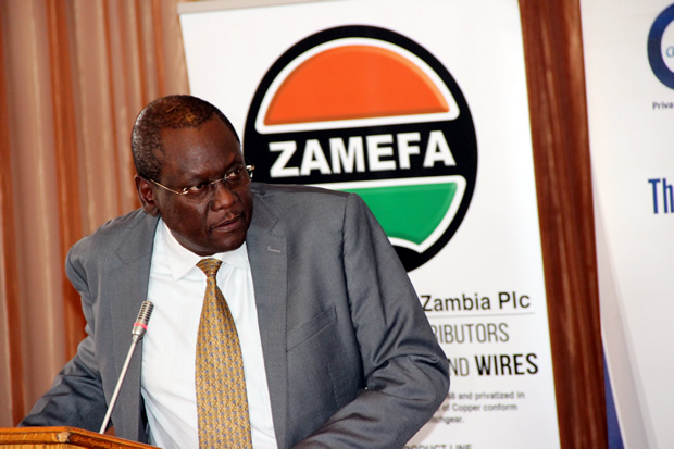 COMESA assistant secretary general Ambassador Dr Kipyego Cheluget during the Zambia public and private dialogue in Lusaka-picture by Tenson Mkhala