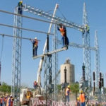 Zesco workers on duty