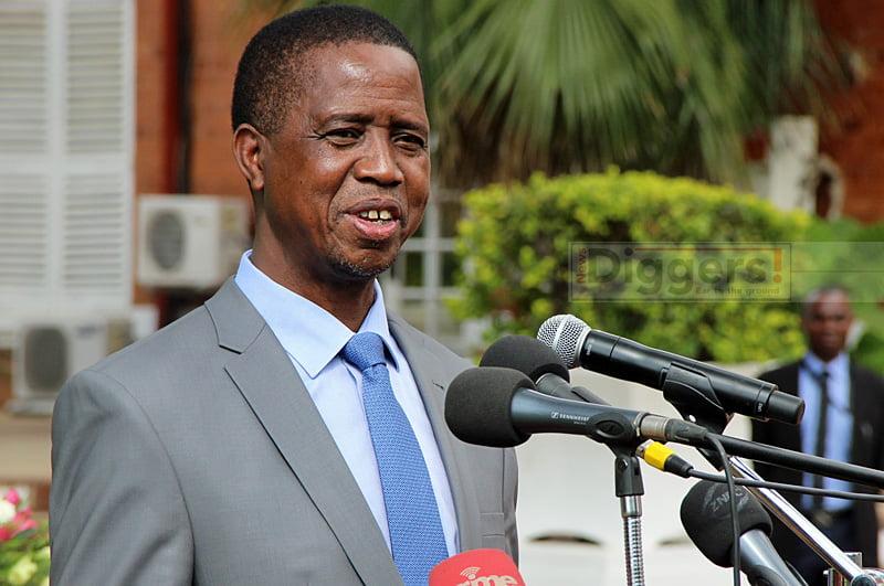 Edgar Lungu speaking
