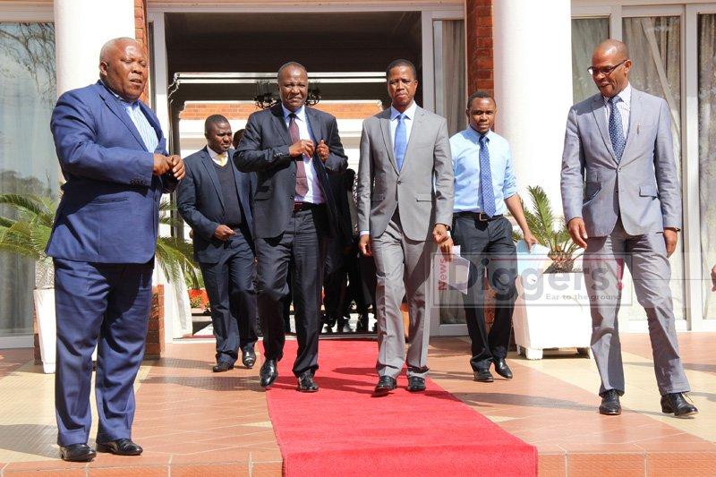 Lungu with Mvunga State House