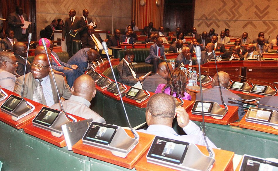 Members of parlaiment in parliament on June 12, 2018 – Picture by Tenson Mkhala